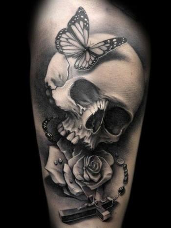 50 Cool Skull Tattoos Designs - Pretty Designs