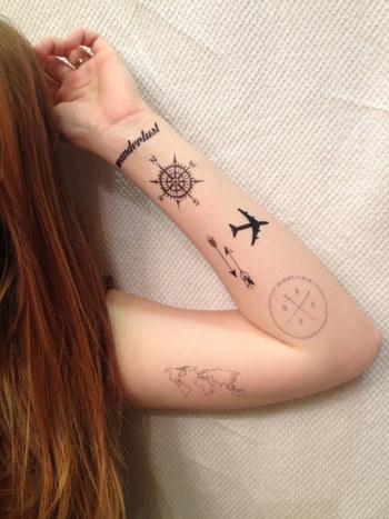 Community Post: 23 Temporary Tattoos Every Traveler Will Love