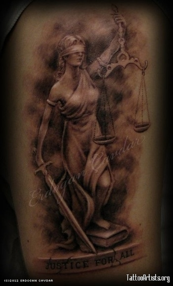 goddess of justice - Tattoo Artists.org