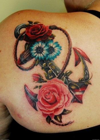 45 Anchor Tattoo Design Ideas - nenuno creative