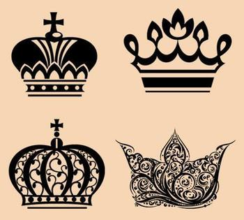 17 Awesome Crown Tattoo Designs