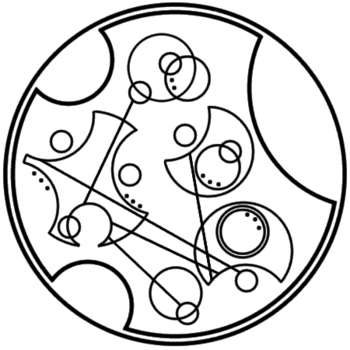 """""""I will love you forever"""" written in circular Gallifreyan requested by anon"""