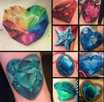 Gemstone Tattoos - Inked Magazine