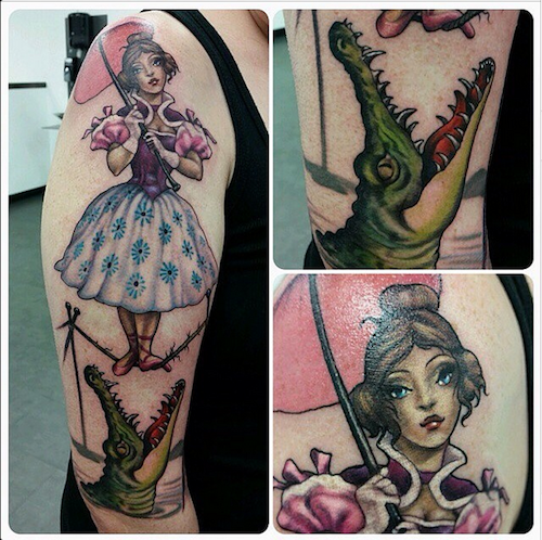 Can you guess what inspired these disney themed tattoos inked magazine 1a4e5b3b 340a 41c9 b04d 5ab1ffd12b10 original