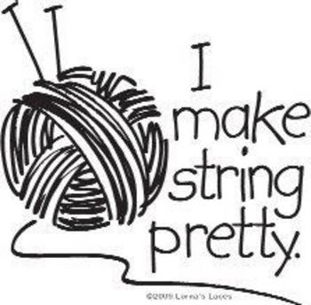 Lorna's Laces: I Make Pretty String