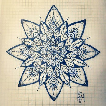 I absolutely love the intricate design of Mandala so much so that I have finally chosen the design to be