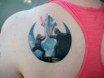 Star Wars Rebel tattoo   Flickr - Photo Sharing!