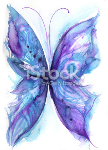 blue butterfly stock illustration 19300299 - iStock