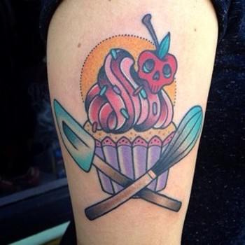 27 Tattoos To Show Your Dedication To Food