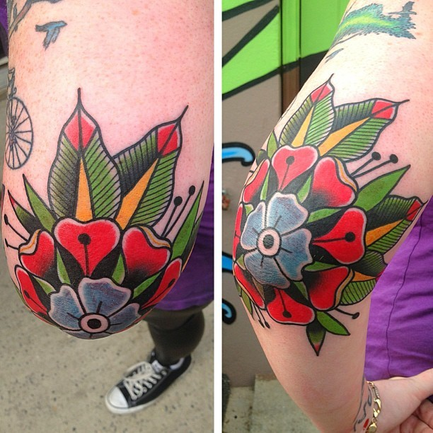 Adam perjatel love the placement on this wish i had the balls to get tattooed on my elbow original