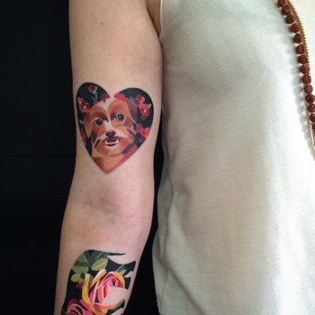 This Geometric-Inspired Tattoo Artist Is Our Next #GirlCrush