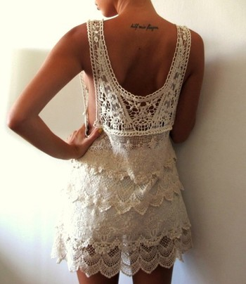 Outfit for the night of the wedding or a honeymoon coverup