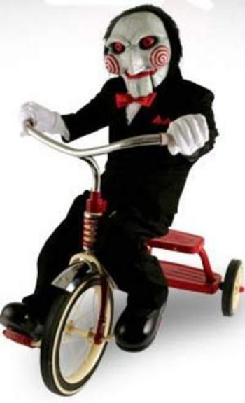 Billy the puppet from Saw movies