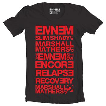 Eminem Discography T-Shirt