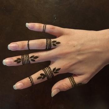 My henna tattoos :) visit my facebook page #henna