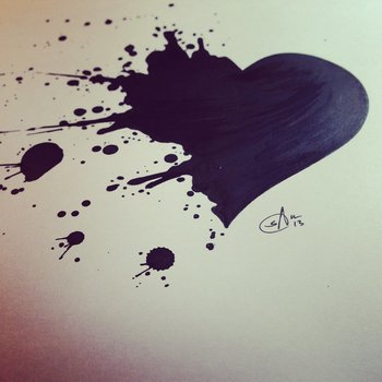 Splatter Heart by SRJ-ART on deviantART