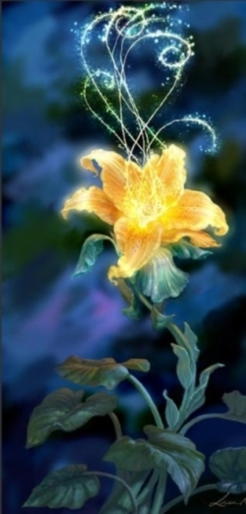 The Magic Golden Flower From Tangled
