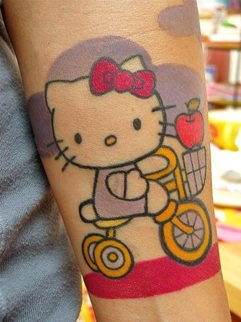 #Hello Kitty #tattoo