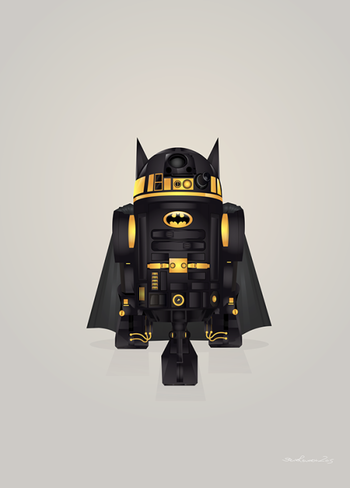 Starwars: R2-D2 Droid Superheroes  Created... | HeroChan
