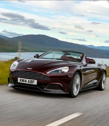 Aston Martin Vanquish Volante | Drive a Aston @ http://www.globalracingschools.com
