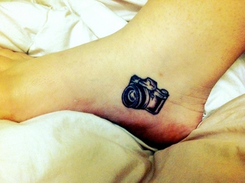 Camera Tattoo. Worst. pain. Everrrrr.