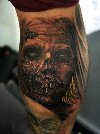 Zombie Tattoos - Inked Magazine