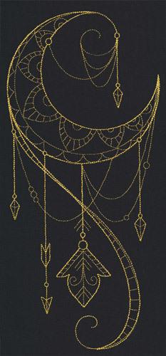 Talisman draping crescent original