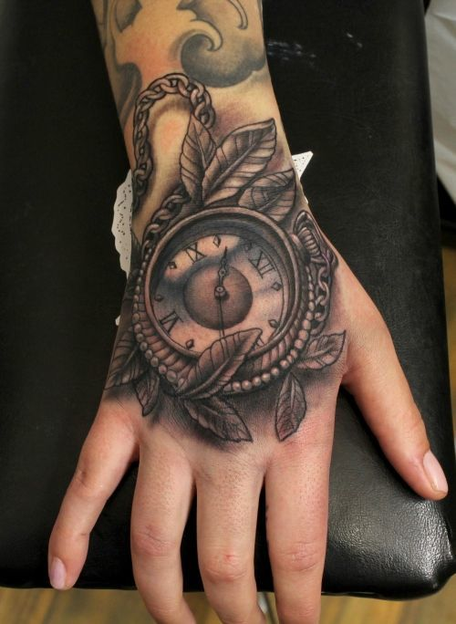 35 urgent time tattoos tattoodo com a3fe7019 bd0e 41db a992 24f37bebbd75 original