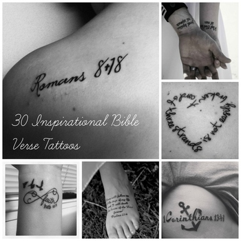 Community Post: 30 Inspirational Bible Verse Tattoos