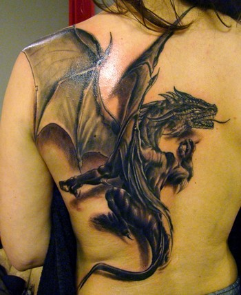 3D Dragon Tattoo Designs