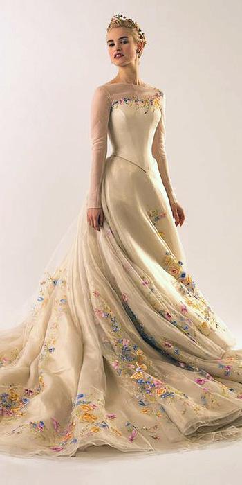 18 Disney Wedding Dresses For Fairy Tale Inspiration | Wedding Forward