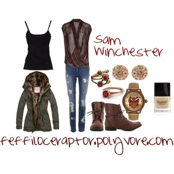 """Sam Winchester"" by feffiloceraptor on Polyvore #Supernatural #casual #cosplay"