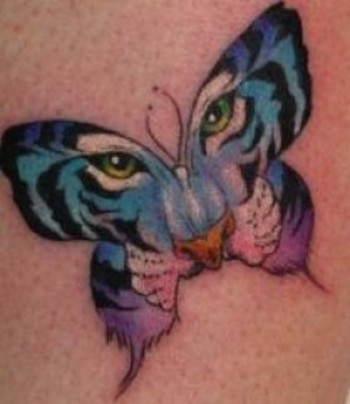 Butterfly Tattoo Gallery-Butterfly Tattoo Designs And Pictures