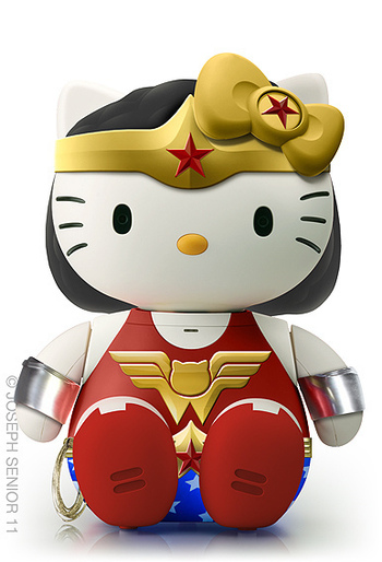 Hello Wonder Kitty by yodaflicker, via Flickr
