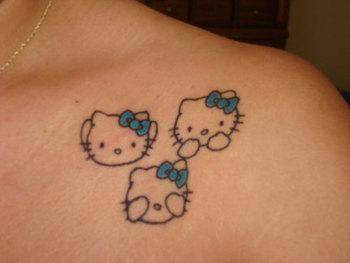 23 Fun Hello Kitty Tattoos For 2013