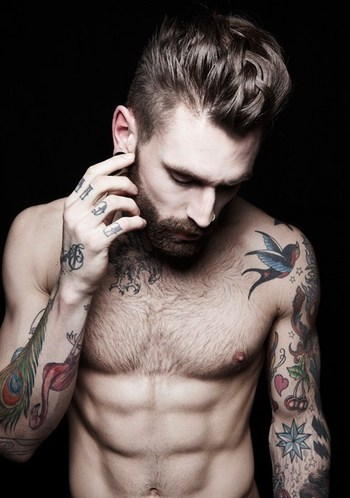 55 Awesome Men's Tattoos | InkDoneRight.com