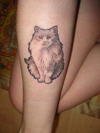 Big Cat Tattoo on Arm | Tattoobite.com