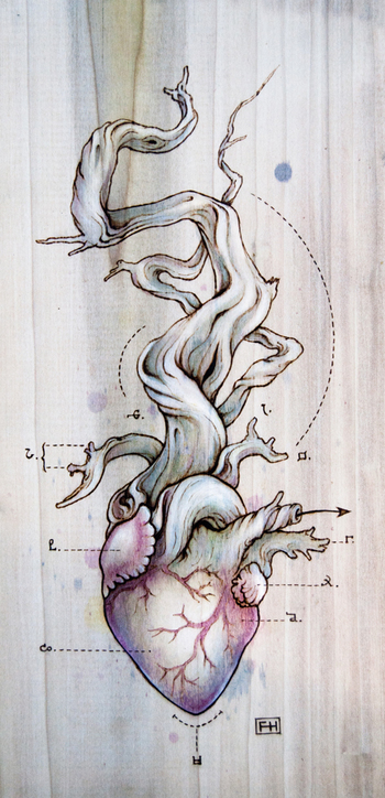 Heart Transplants | The Art of Fay Helfer