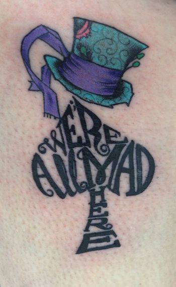 alice in wonderland tattoo - Google Search