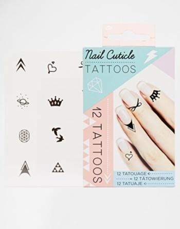 ASOS | Nail Cuticle Tattoos at ASOS