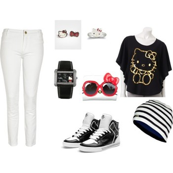 Hello Kitty Outfit - Polyvore