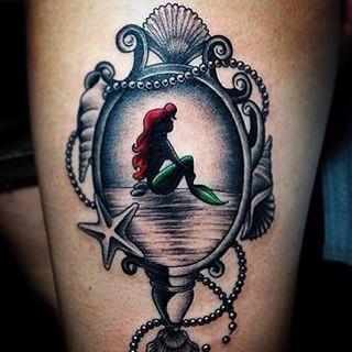 43 gorgeous disney princess tattoos original