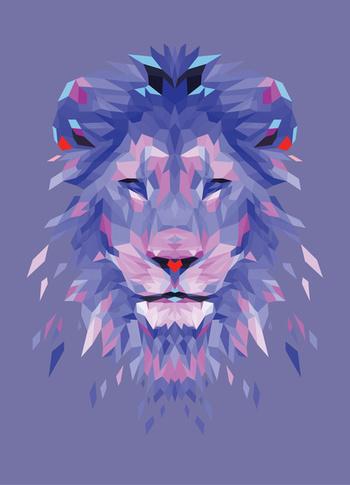 Royalty - Blue Art Print by Casey Ligon | Society6