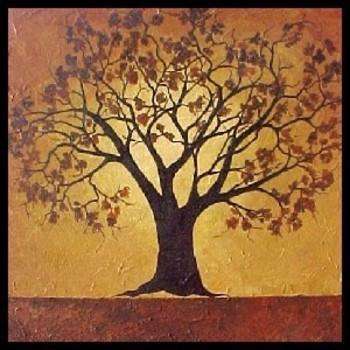 rowan tree | Dana Marie - The Rowan Tree - Art By Artists - Online Art Gallery