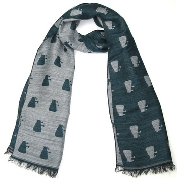 A Beautiful Dalek Scarf For Doctor Who Fashionistas