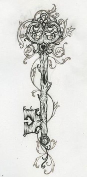 key tattoo   kootation.blogspot.com