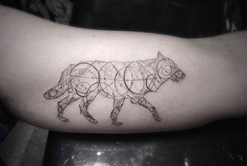 Wonderful Geometric And Linear Tattoos By Dr. Woo - iCreatived