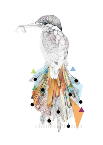 Kingfisher, by Beth-Emily