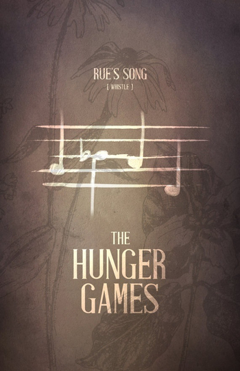 Hunger Games / Rues Whistle Calling. Pinning this for my music loving followers. This helped me out w