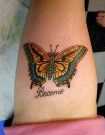 What is the Meaning of Butterfly Tattoos